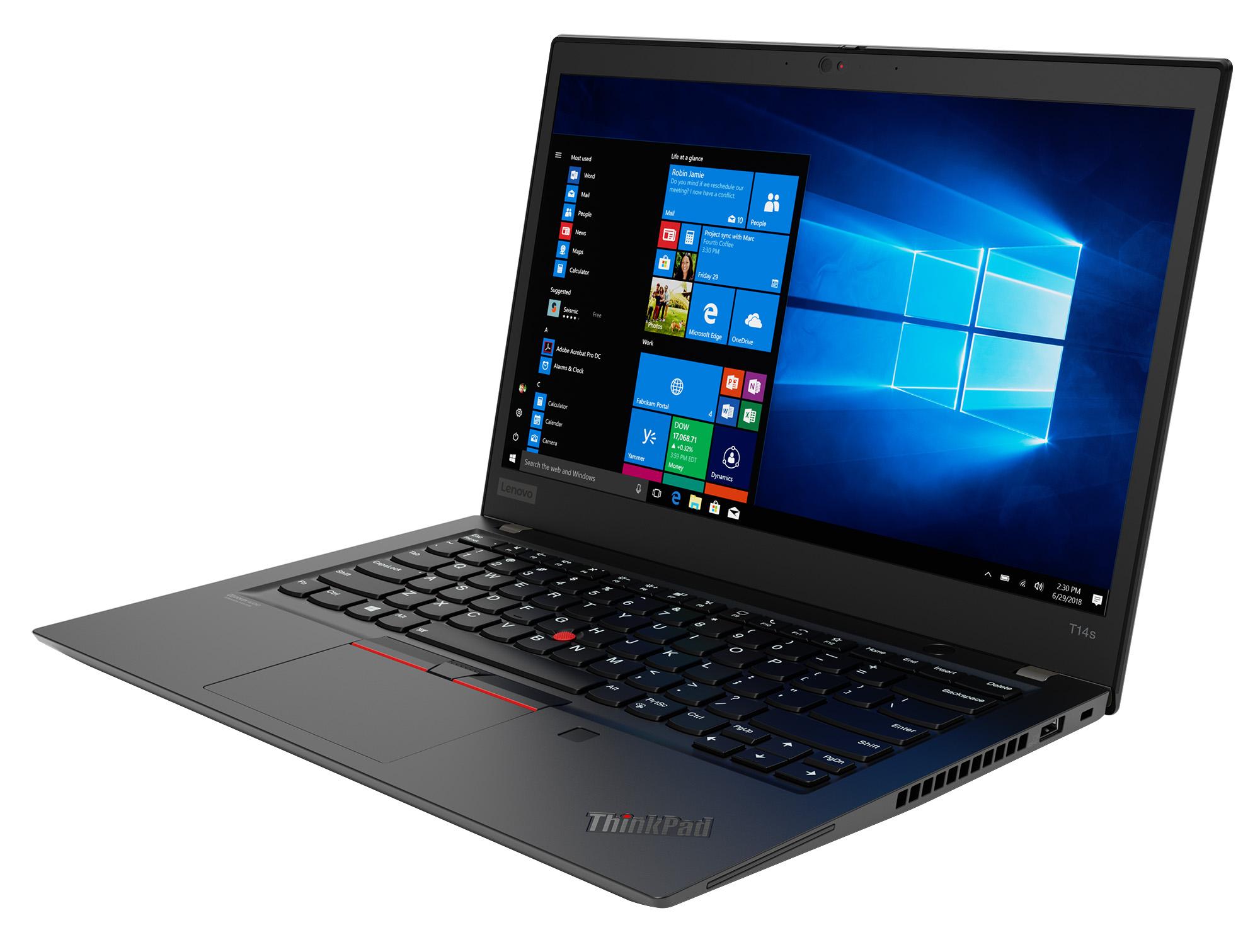 Фото  Ноутбук ThinkPad T14s 1st Gen (20T00015RT)