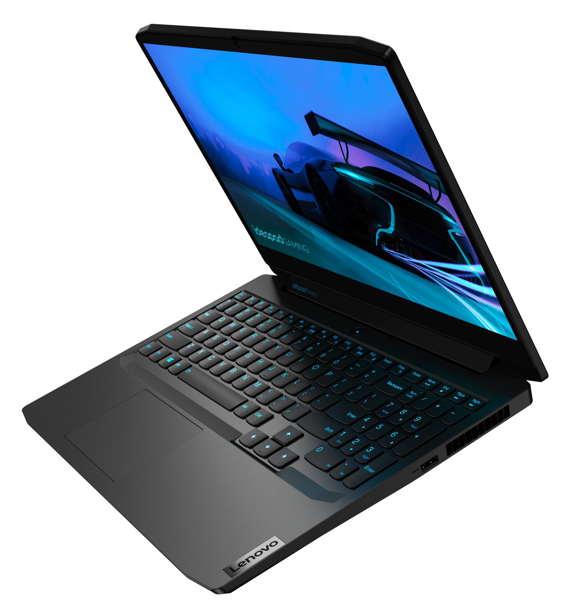Фото  Ноутбук Lenovo ideapad Gaming 3 15IMH05 Onyx Black (81Y400L2RK)