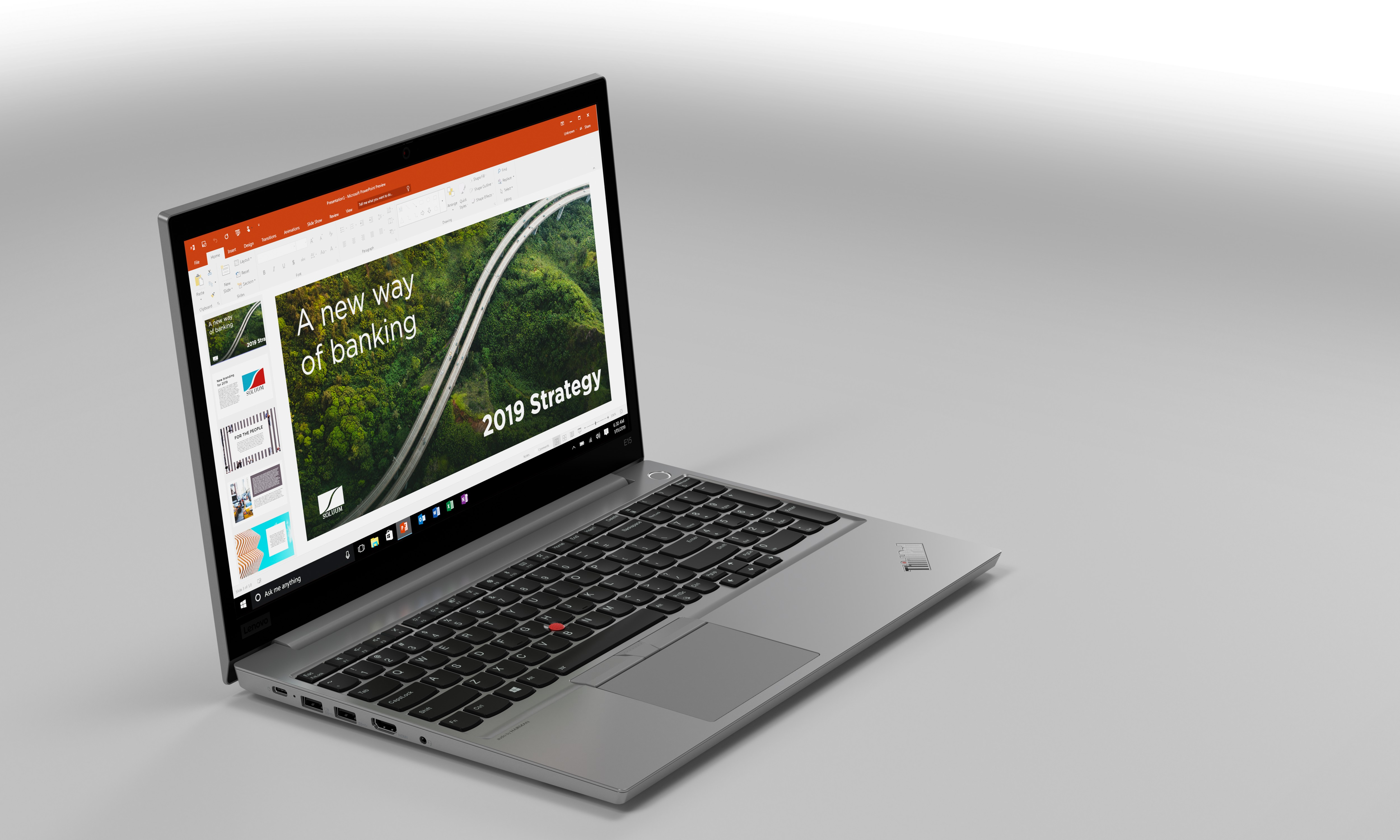 Фото  Ноутбук ThinkPad E15 (20RD0012RT)