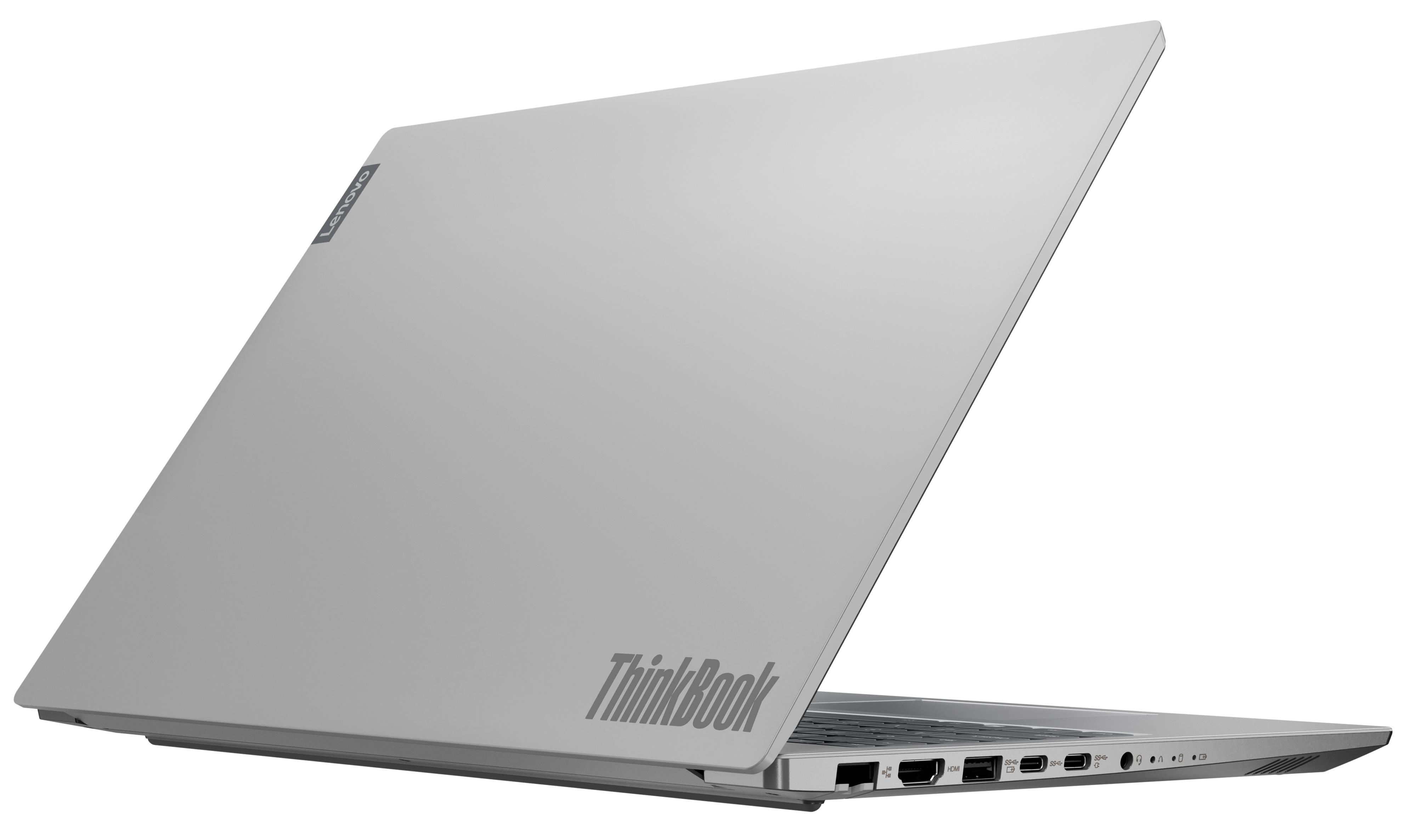 Фото  Ноутбук ThinkBook 15-IIL Mineral Grey (20SM002JUA)