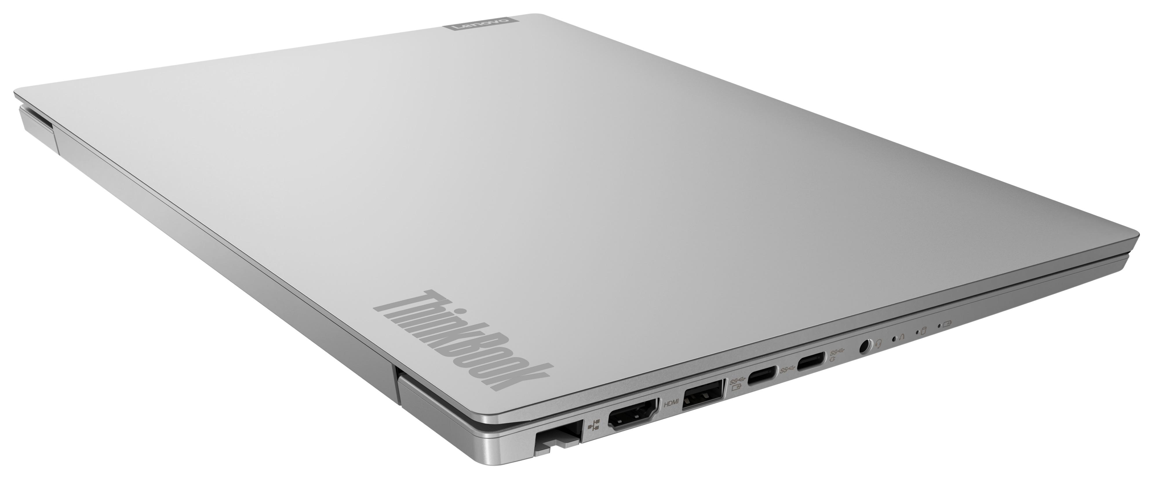 Фото  Ноутбук ThinkBook 14-IIL Mineral Grey (20SL00JURU)