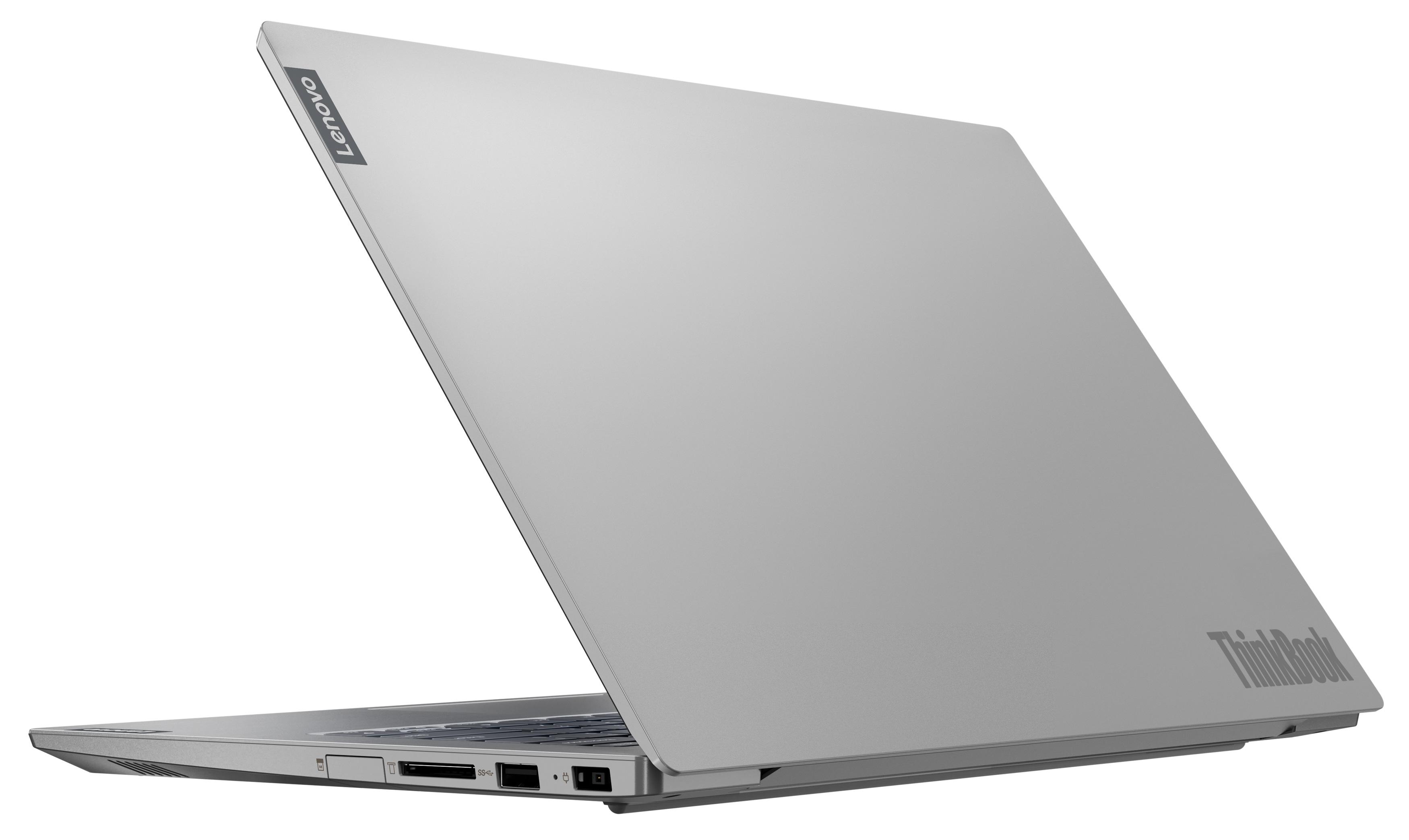 Фото  Ноутбук ThinkBook 14-IIL Mineral Grey (20SL000LRU)
