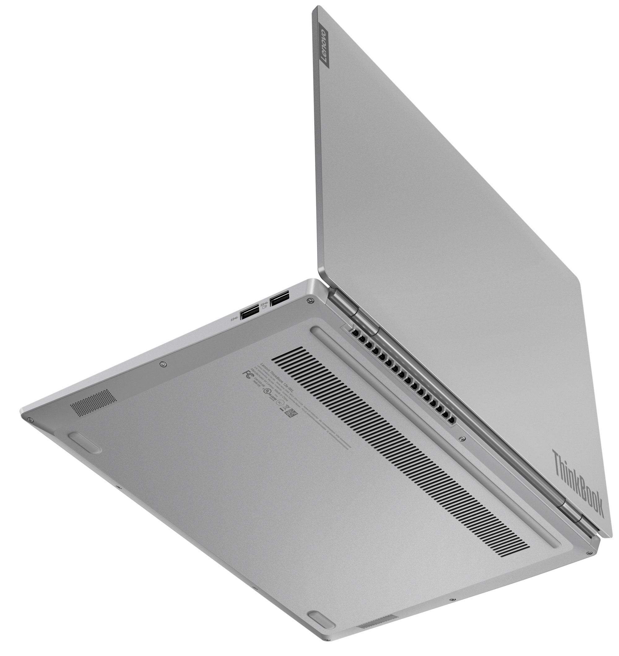 Фото  Ноутбук ThinkBook 13s-IML Mineral Grey (20RR001HRU)