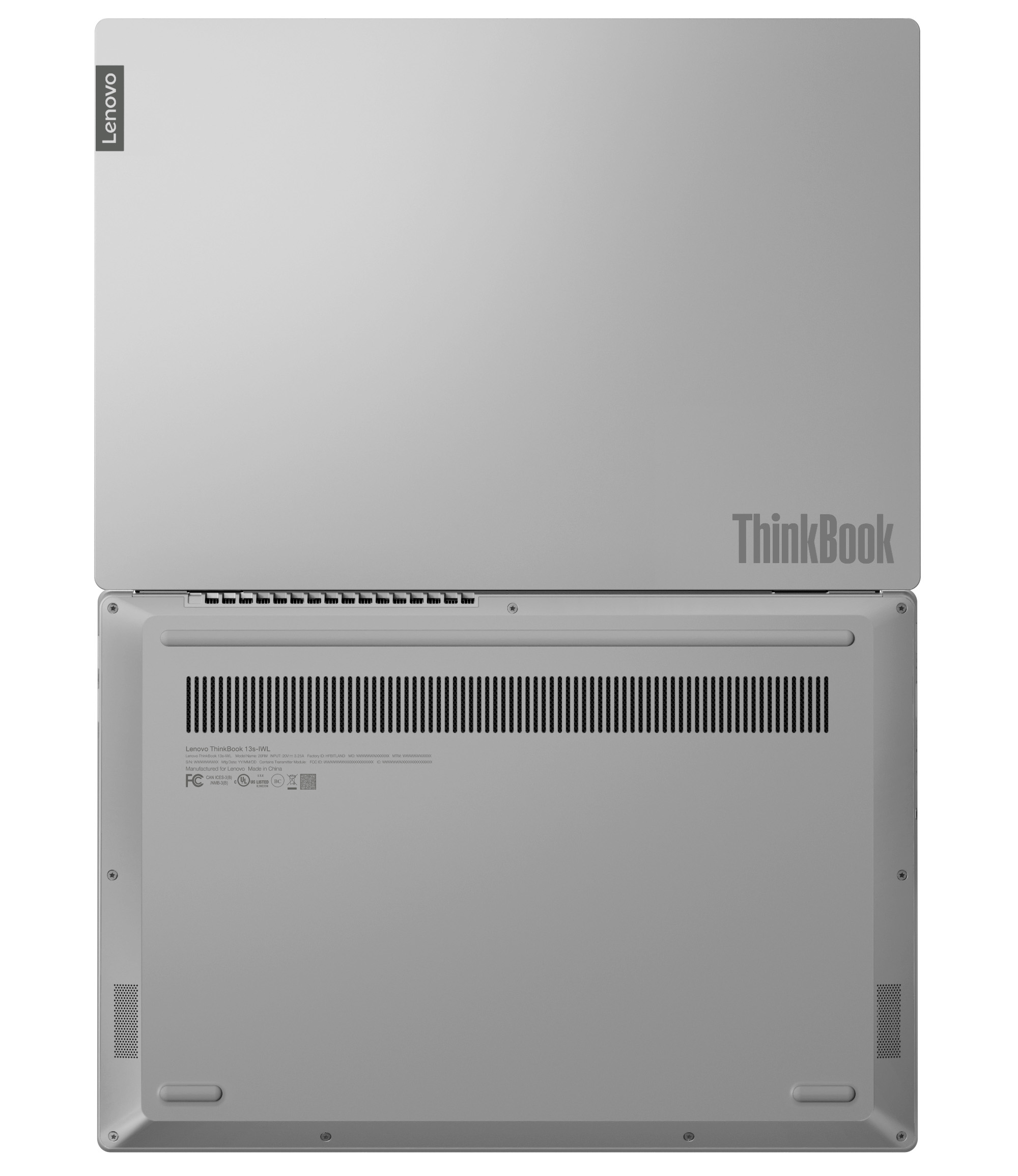 Фото  Ноутбук ThinkBook 13s-IML Mineral Grey (20RR001LRU)