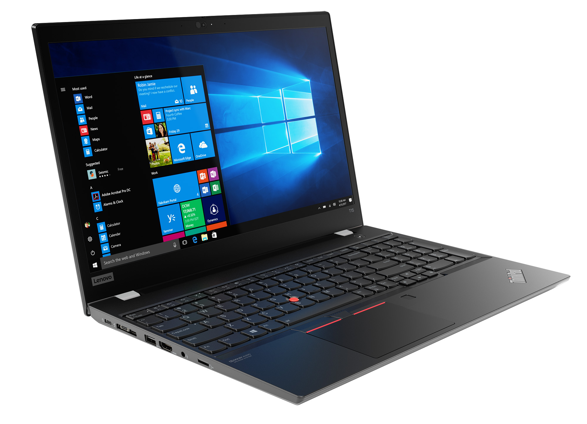 Фото  Ноутбук ThinkPad T15 1st Gen (20S60022RT)