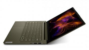 Фото 4 Ноутбук Lenovo Yoga Slim 7i 14IIL05 Dark Moss (82A100CDRE)
