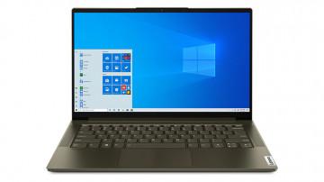 Фото 1 Ноутбук Lenovo Yoga Slim 7i 14IIL05 Dark Moss (82A100CDRE)