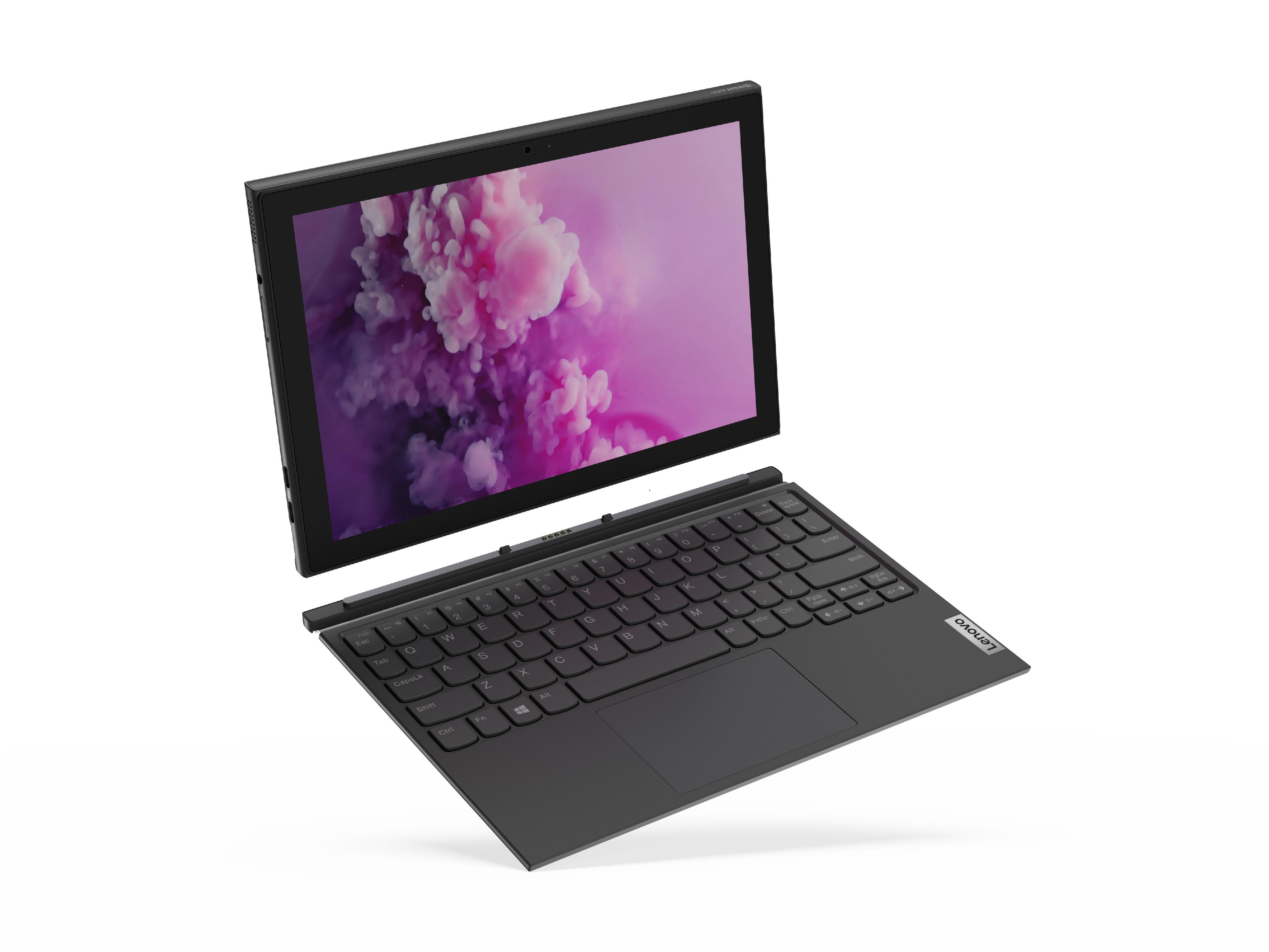 Фото  Планшет Lenovo ideapad Duet 3 N4020 4/64 Win10P Graphite Grey (82AT005ERU)