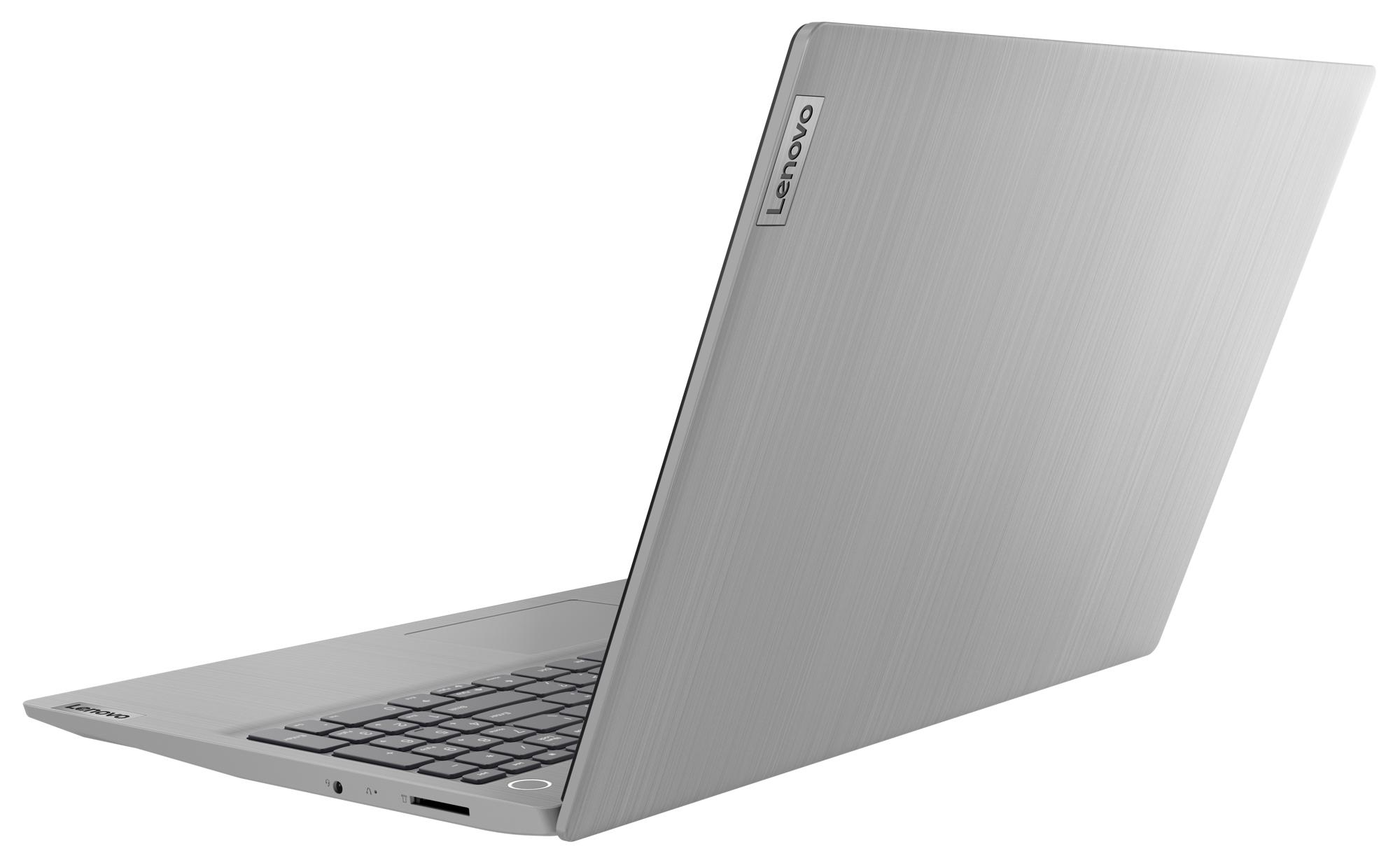 Фото  Ноутбук Lenovo ideapad 3i 15IML05 Platinum Grey (81WB00KERE)