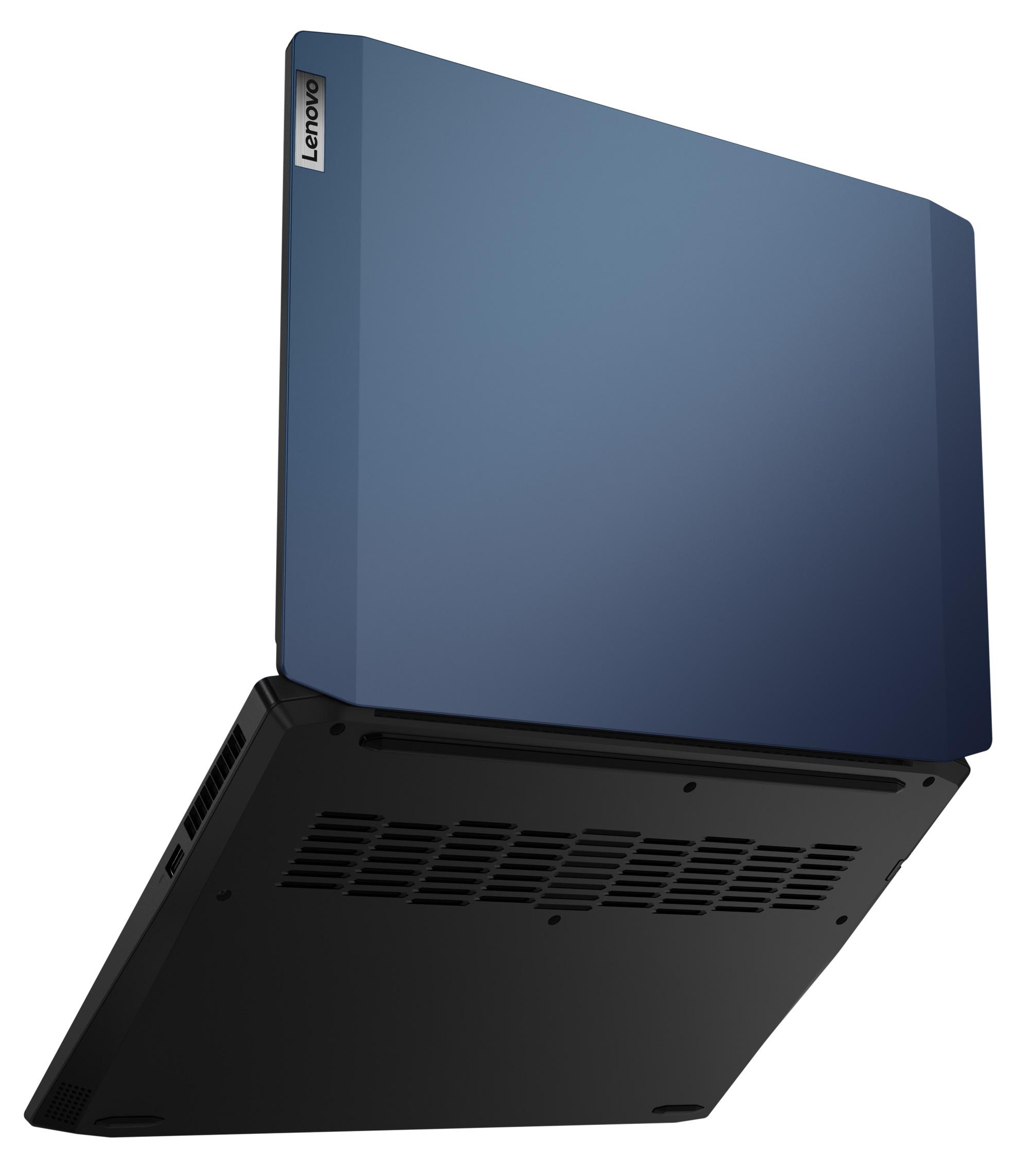 Фото  Ноутбук Lenovo ideapad Gaming 3i 15IMH05 Chameleon Blue (81Y400CGRE)