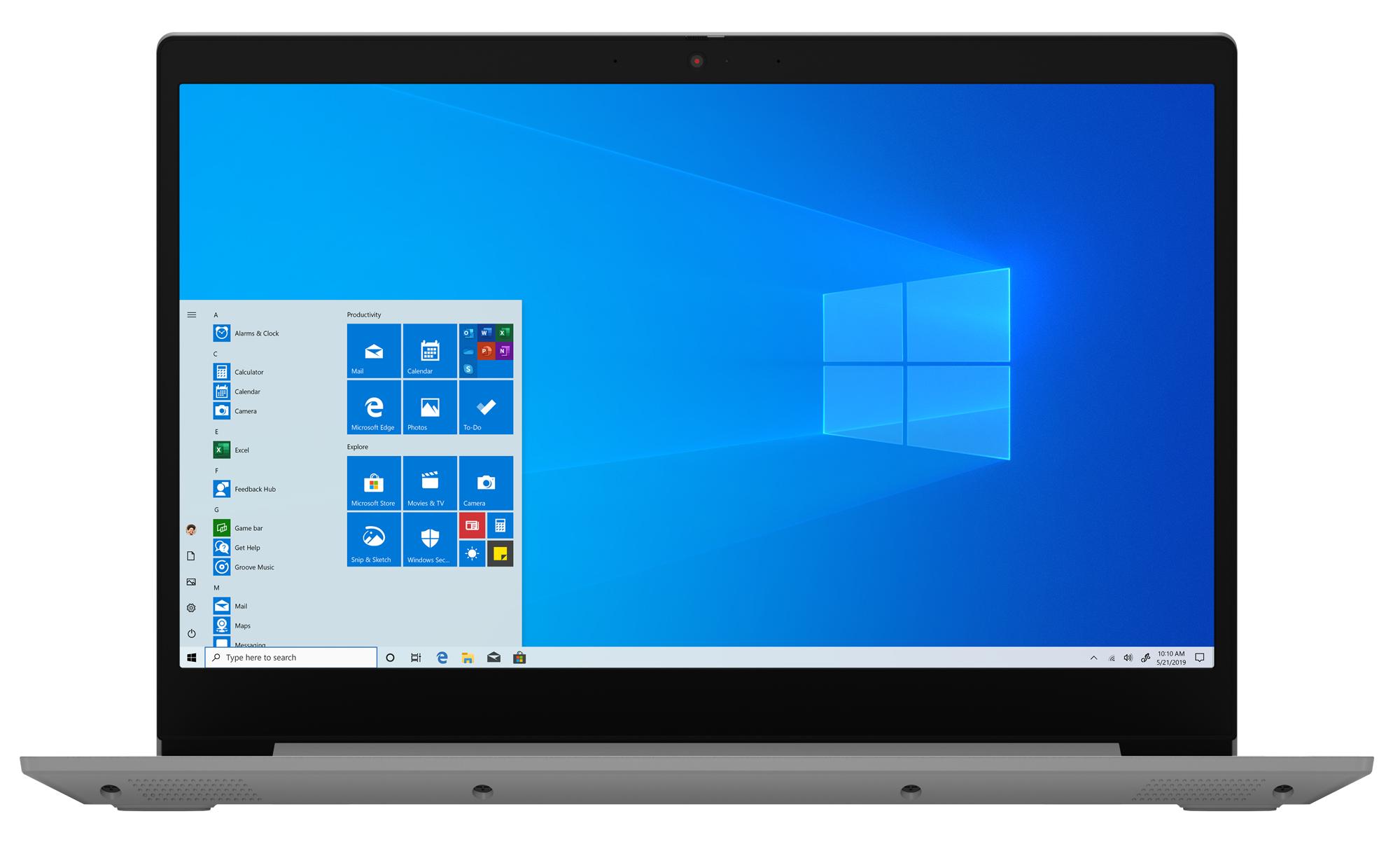 Фото  Ноутбук Lenovo ideapad 3i 15IML05 Platinum Grey (81WB00LXRE)