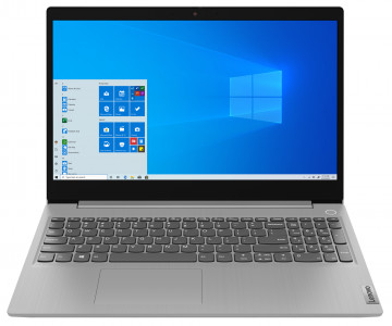 Фото 1 Ноутбук Lenovo ideapad 3i 15IML05 Platinum Grey (81WB00LWRE)
