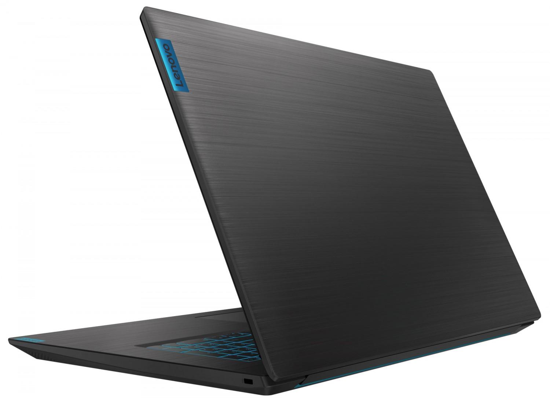 Фото  Ноутбук Lenovo ideapad L340-17IRH Gaming Granite Black (81LL00JMRE)