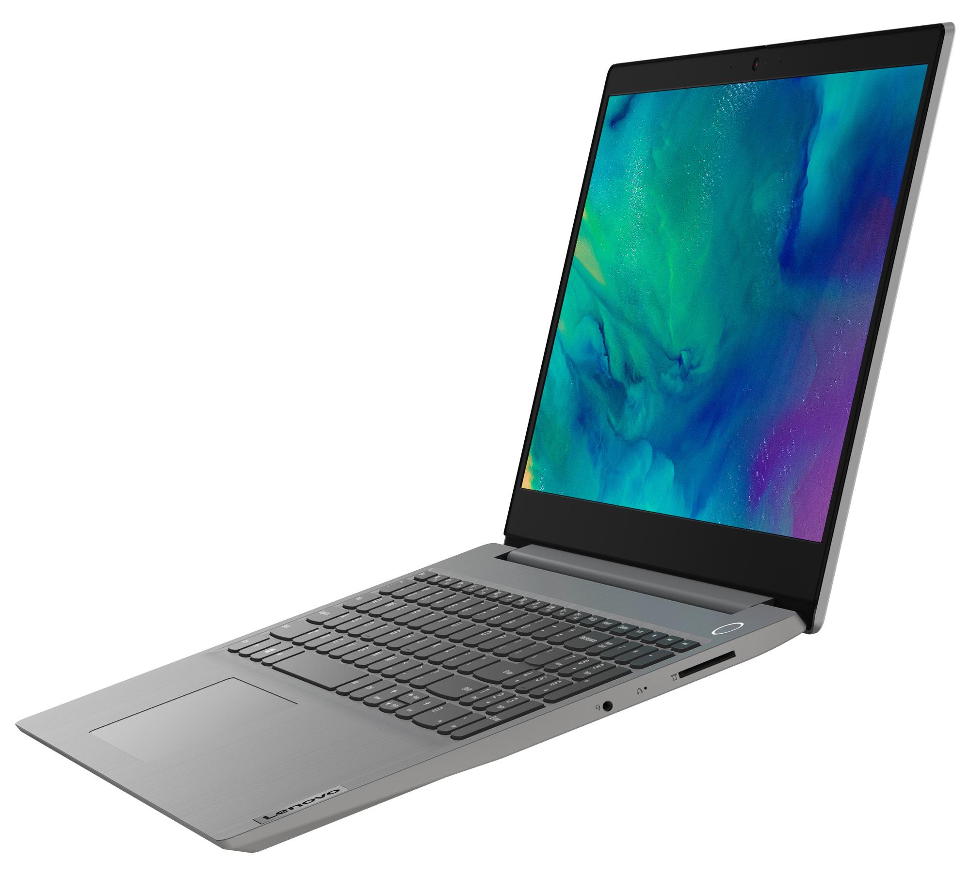 Фото  Ноутбук Lenovo ideapad 3i 15IML05 Platinum Grey (81WB00R8RE)