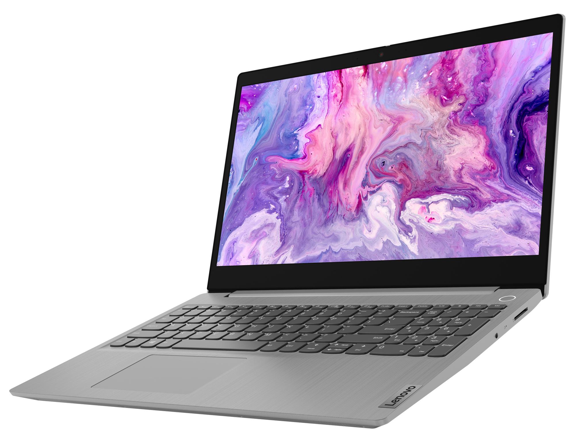 Фото  Ноутбук Lenovo ideapad 3 15ADA05 Platinum Grey (81W100QNRE)