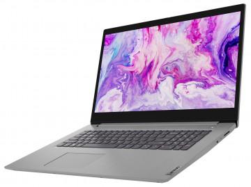 Фото 1 Ноутбук Lenovo ideapad 3i 17IML05 Platinum Grey (81WC009HRE)