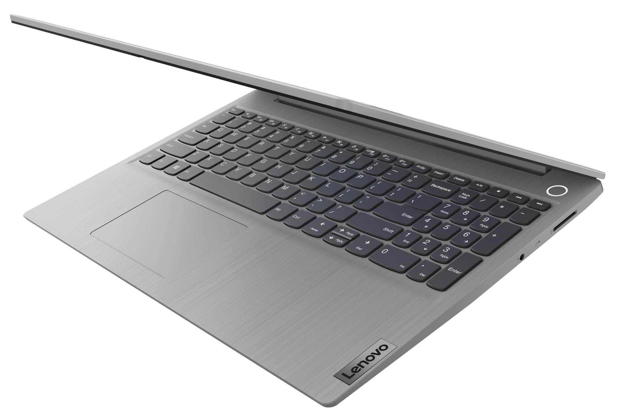 Фото  Ноутбук Lenovo ideapad 3 15ADA05 Platinum Grey (81W100GWRE)