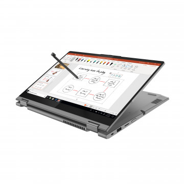 Фото 4 Ноутбук ThinkBook 14s Yoga ITL Mineral Grey (20WE0030RU)