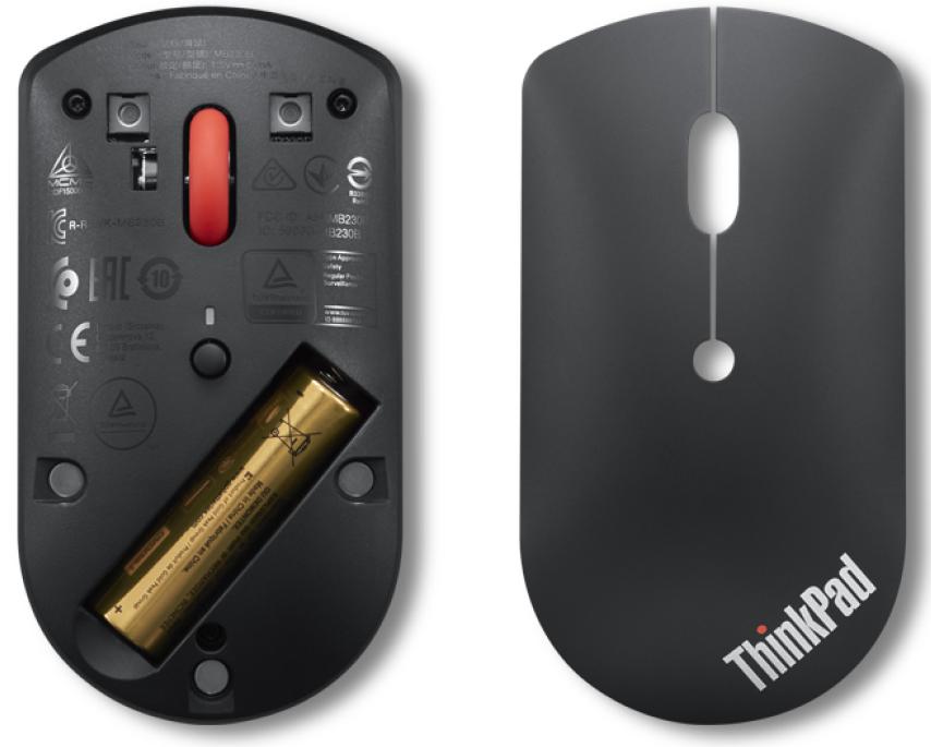 Фото  Мышь Lenovo ThinkPad Bluetooth Silent Mouse (4Y50X88822)