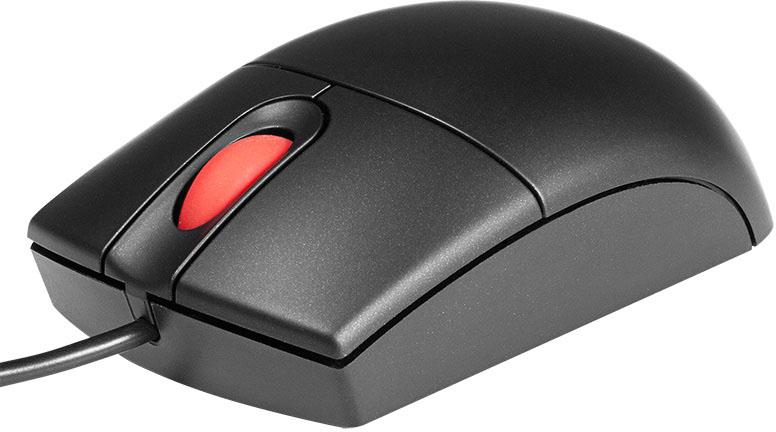 Фото  Мышь проводная Lenovo ThinkPad USB Travel Mouse (31P7410)