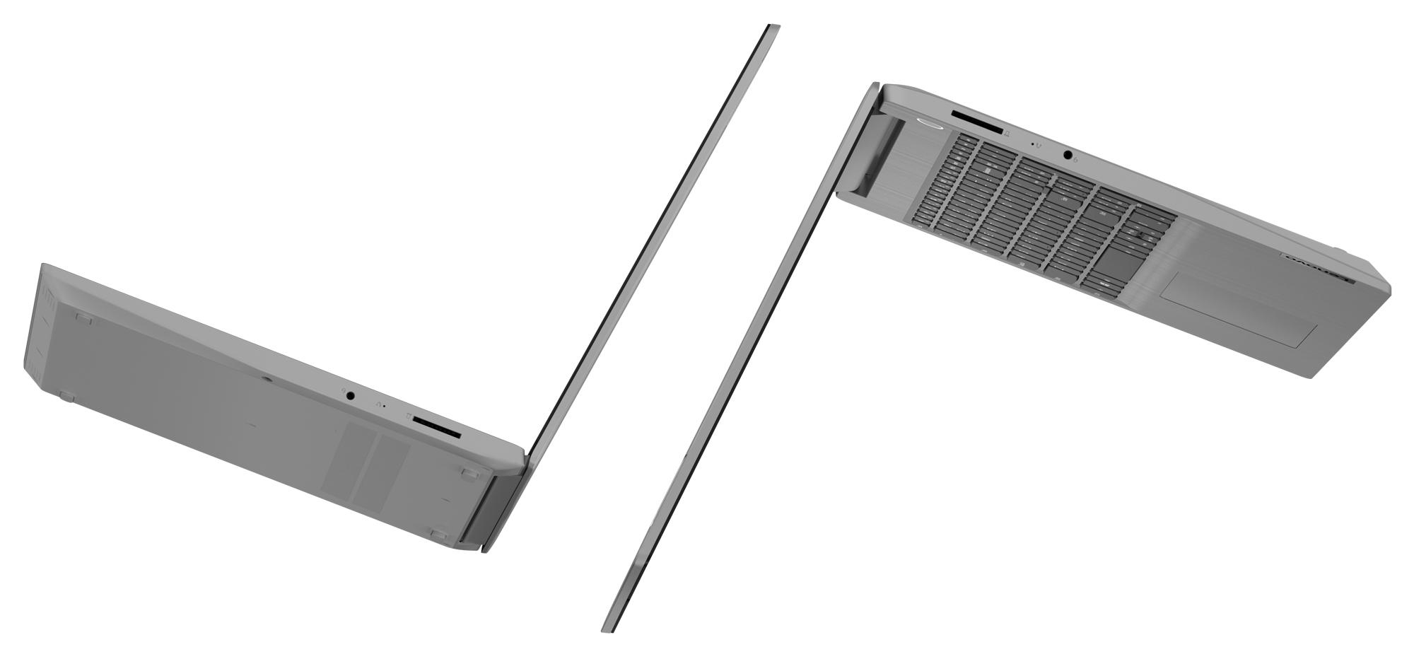 Фото  Ноутбук Lenovo ideapad 3 15ADA05 Platinum Grey (81W100TBRE)