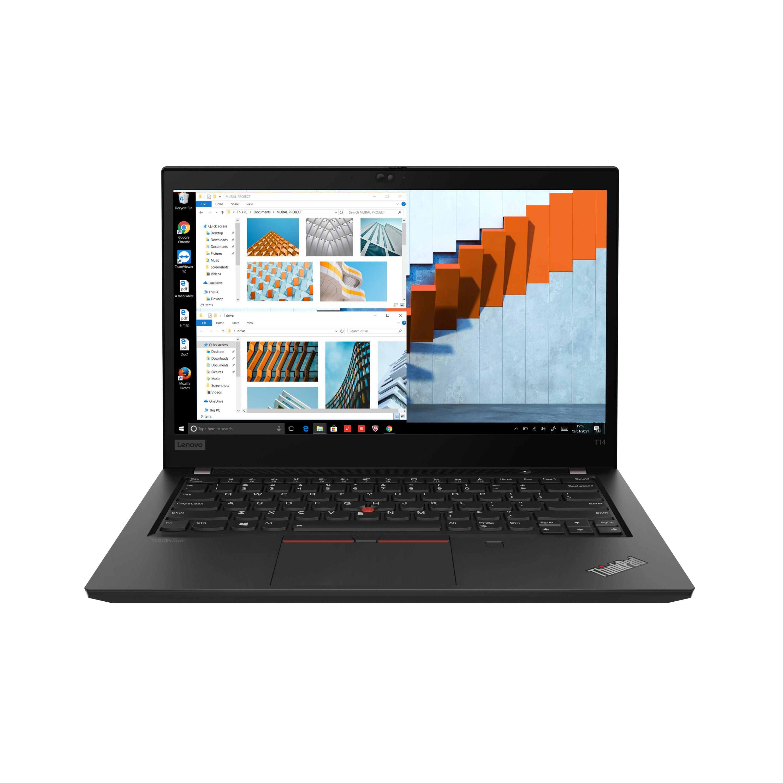 Фото  Ноутбук ThinkPad T14 Gen 2 Black (20W0000GRT)