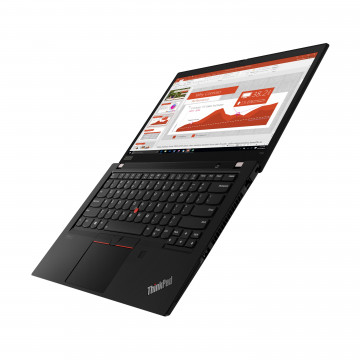 Фото 3 Ноутбук ThinkPad T14 Gen 2 Black (20W00058RT)