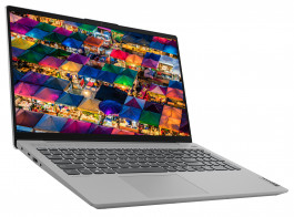 Ноутбук Lenovo ideapad 5i 15ITL05 Platinum Grey (82FG00PYRE)