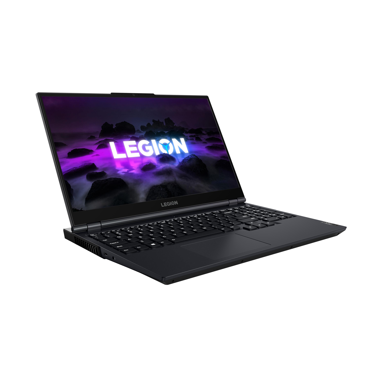 Фото  Ноутбук Lenovo Legion 5 15ACH6H Phantom Blue (82JU0095RE)