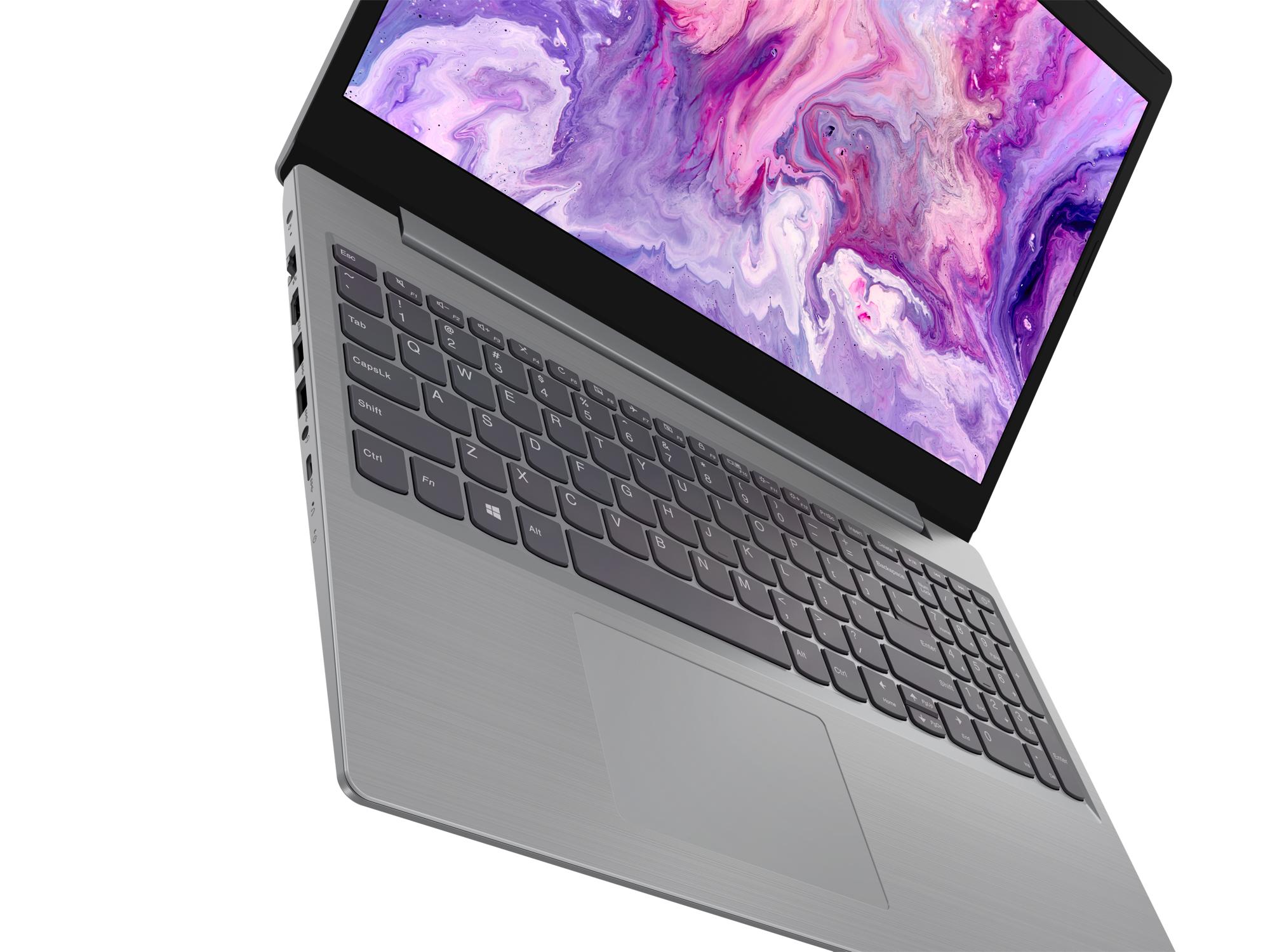 Фото  Ноутбук Lenovo ideapad L3i 15IML05 Platinum Grey (81Y300R2RE)